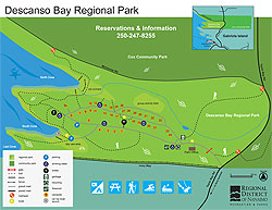 Descanso Bay Regional Park Map