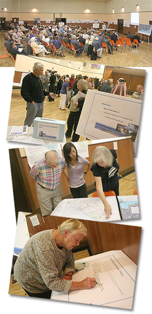 Village Planning Project begins with September 2008 open house