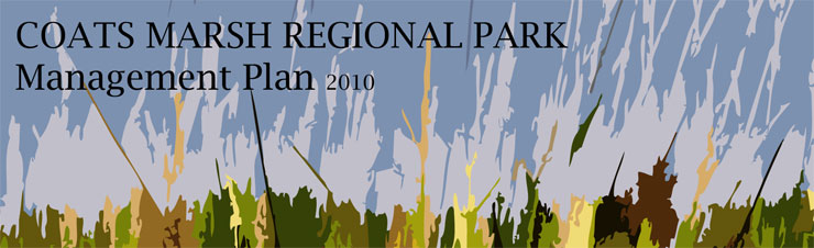 Coats Marsh Regional Park Management Plan