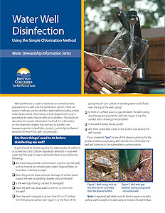 Water Well Disinfection - Using the Simple Chlorination Method
