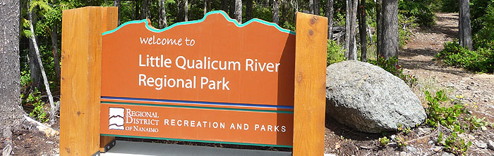 Little Qualicum River Regional Park