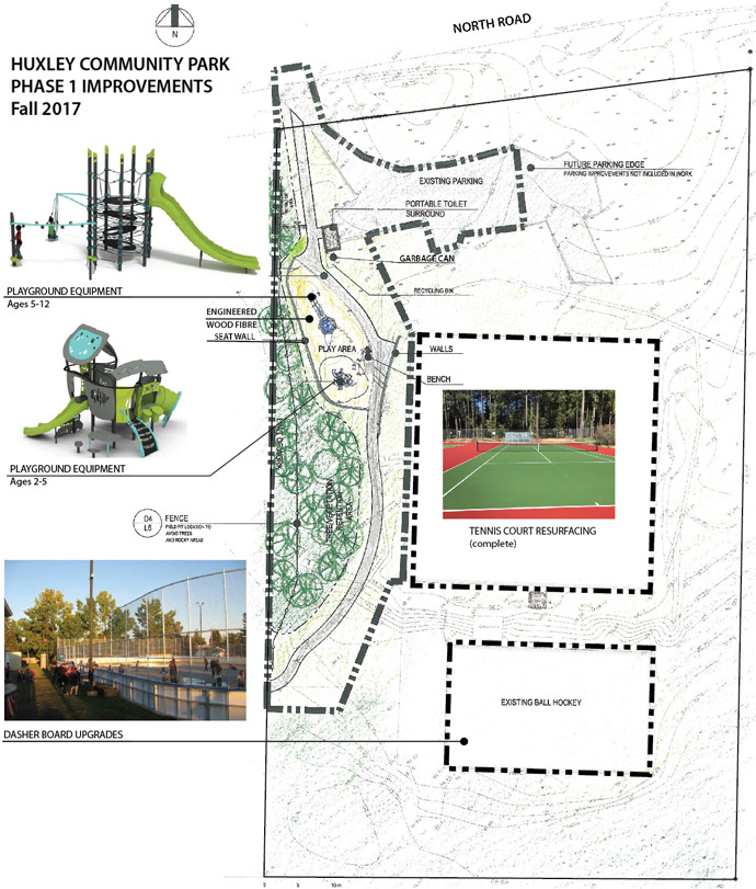 Huxley Community Park - Phase 1 Improvements Fall 2017