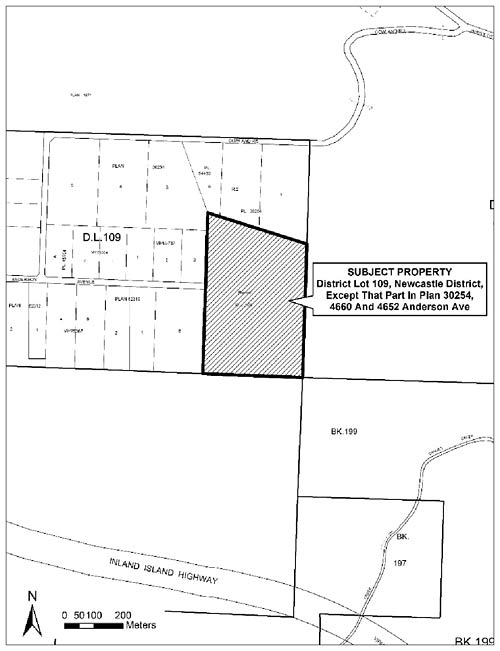 District Lot 109, Newcastle District, Except That Part in Plan 30254