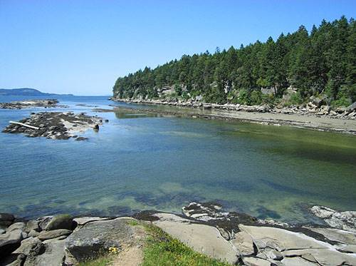 Gabriola, DeCourcy, Mudge Islands