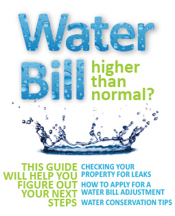 High Water Bill Guide